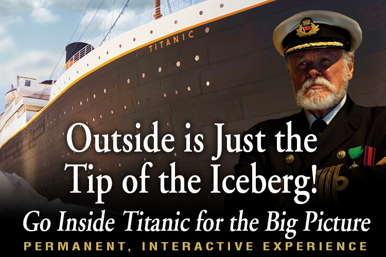 About Titanic Pigeon Forge