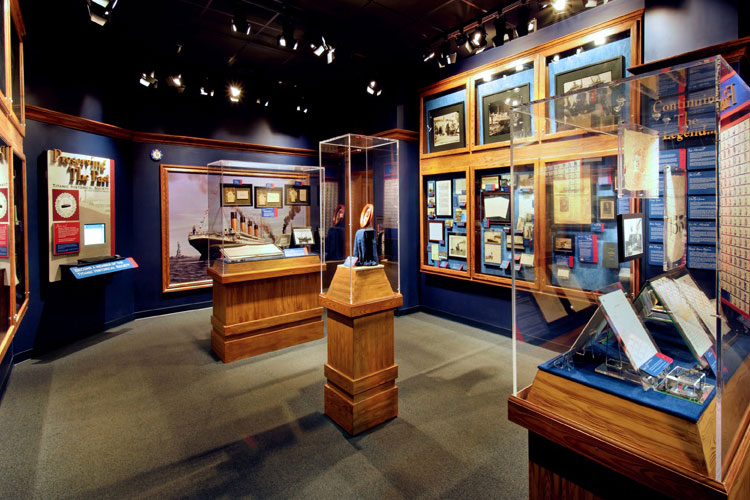 Titanic Museum Displays