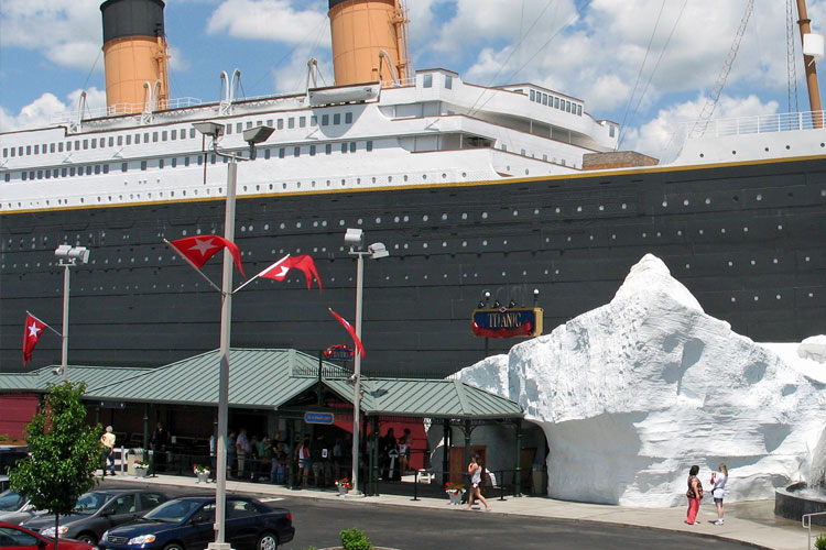 Titanic Museum Attraction Ship