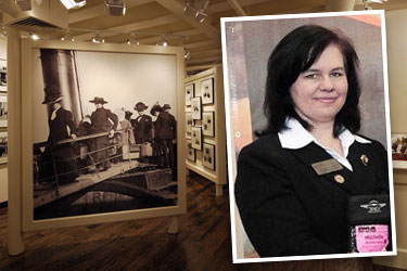 Titanic Sales Executive Michelle Fahidy
