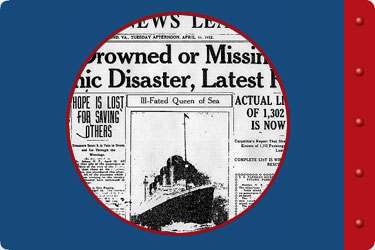 Titanic Education Guide - Arts and Social Studies - newspapers
