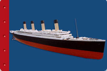 Titanic Education Guide - Math - Titanic model