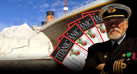 Click here to order your Titanic Pigeon Forge tickets.