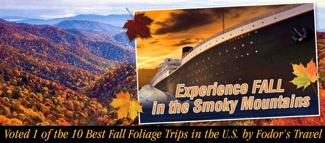 titanic-pigeon-forge-fall-smoky-mountains