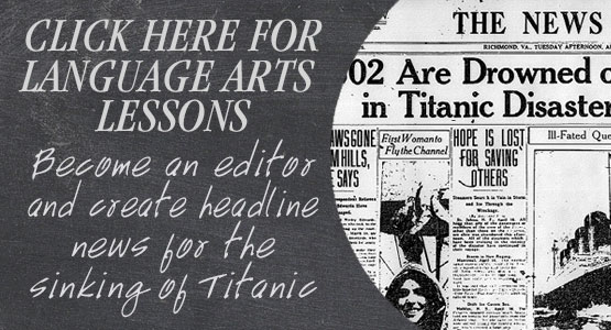 Titanic Pigeon Forge Education Guide - Arts and Social Studies