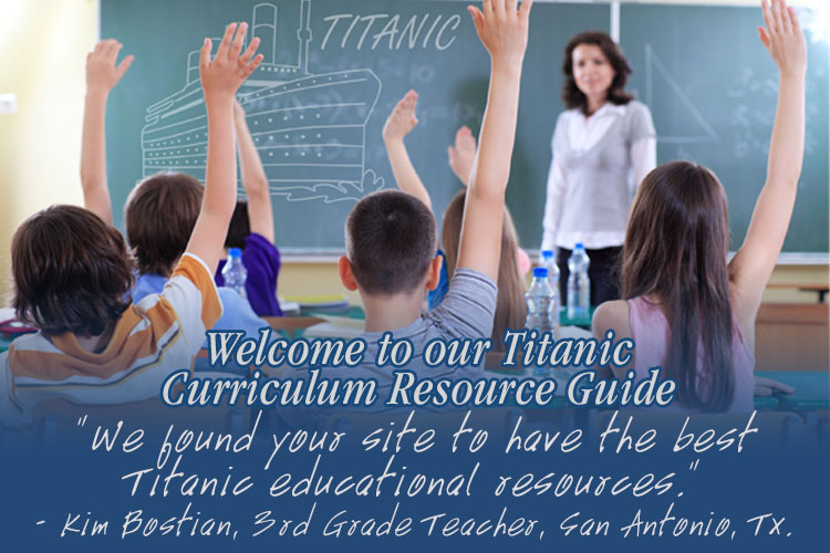 Titanic Pigeon Forge Education Guide
