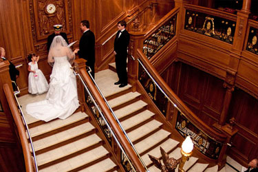 Titanic wedding coordinator