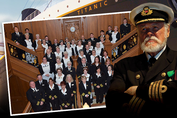 Meet our Titanic Pigeon Forge crew