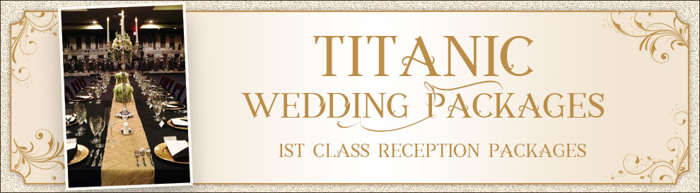 Titanic Pigeon Forge First Class reception packages