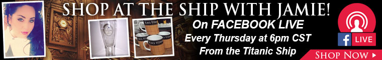 Shop the ship with Jamie every Thursday at 6pm Central on Facebook live.