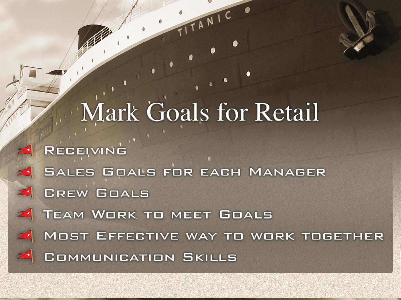 Titanic Retail Powerpoint Comp
