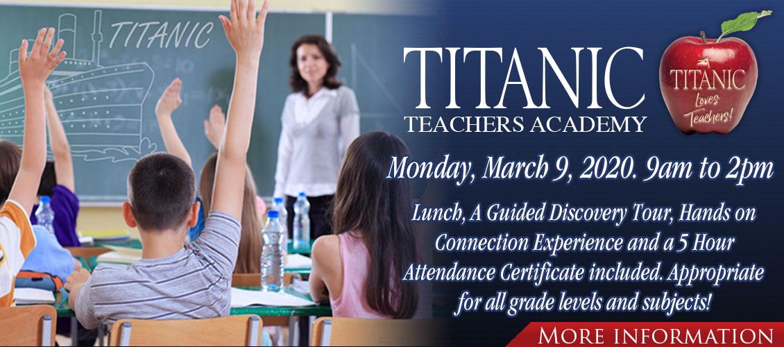 Titanic Teachers Academy