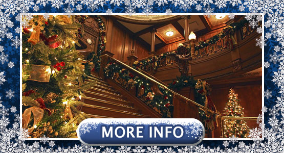Titanic Museum Attraction Christmas and Winter Celebration. Now – December 31st, 2019.