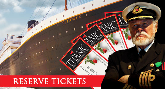Titanic Pigeon Forge Reopening! Monday, June 1. Face Reservations Required. 800-381-7670.