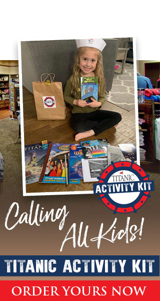 Calling all Kids! Titanic Activity Kits!