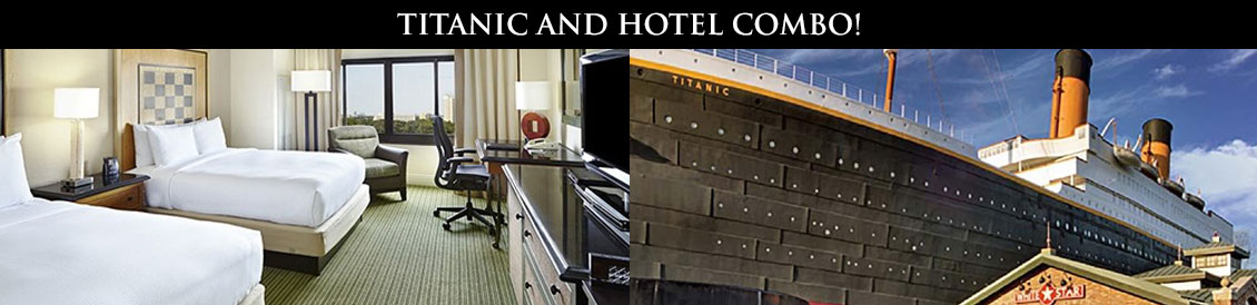 Save combining Titanic and a Pigeon Forge Hotel combo package