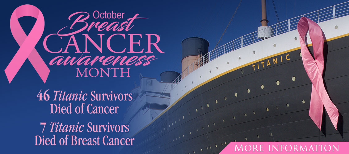 October is Breast Cancer Awareness Month at Titanic Pigeon Forge
