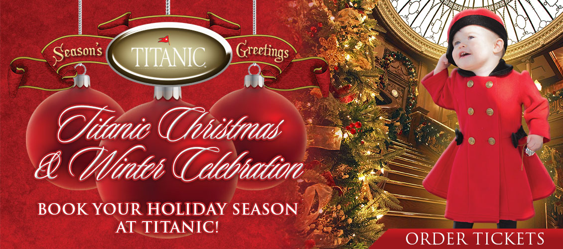 Titanic Pigeon Forge Christmas and Winter Celebration.