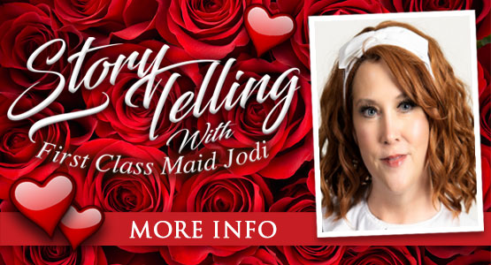 Titanic Thursdays! Titanic Storytelling with First Class Maid Jodi.Noon EST on Facebook Live.
