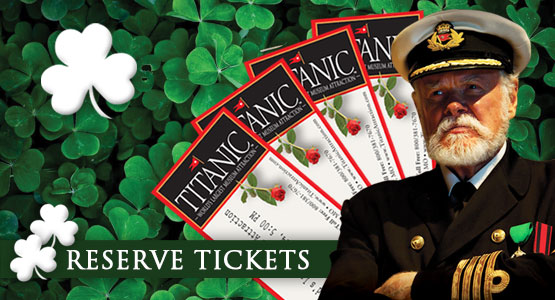 Order Titanic Pigeon Forge Tickets. Reservations Required. 800-381-7670.