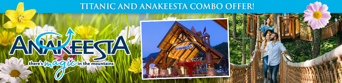 Why buy an Anakeesta and Titanic combo ticket? You never know what you'll see!